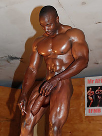 Solo gay amateur oiled