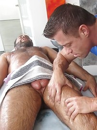 Gay sex massage porn